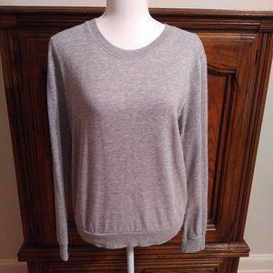 Divided H&M Basic Gray Sweatshirt